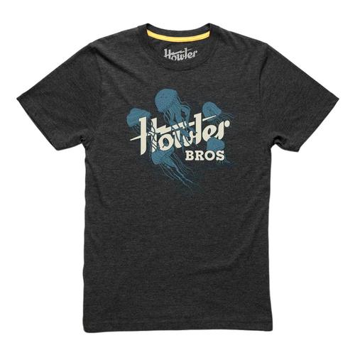 Howler Brothers Kids Electric Jellyfish T-Shirt Charcoal