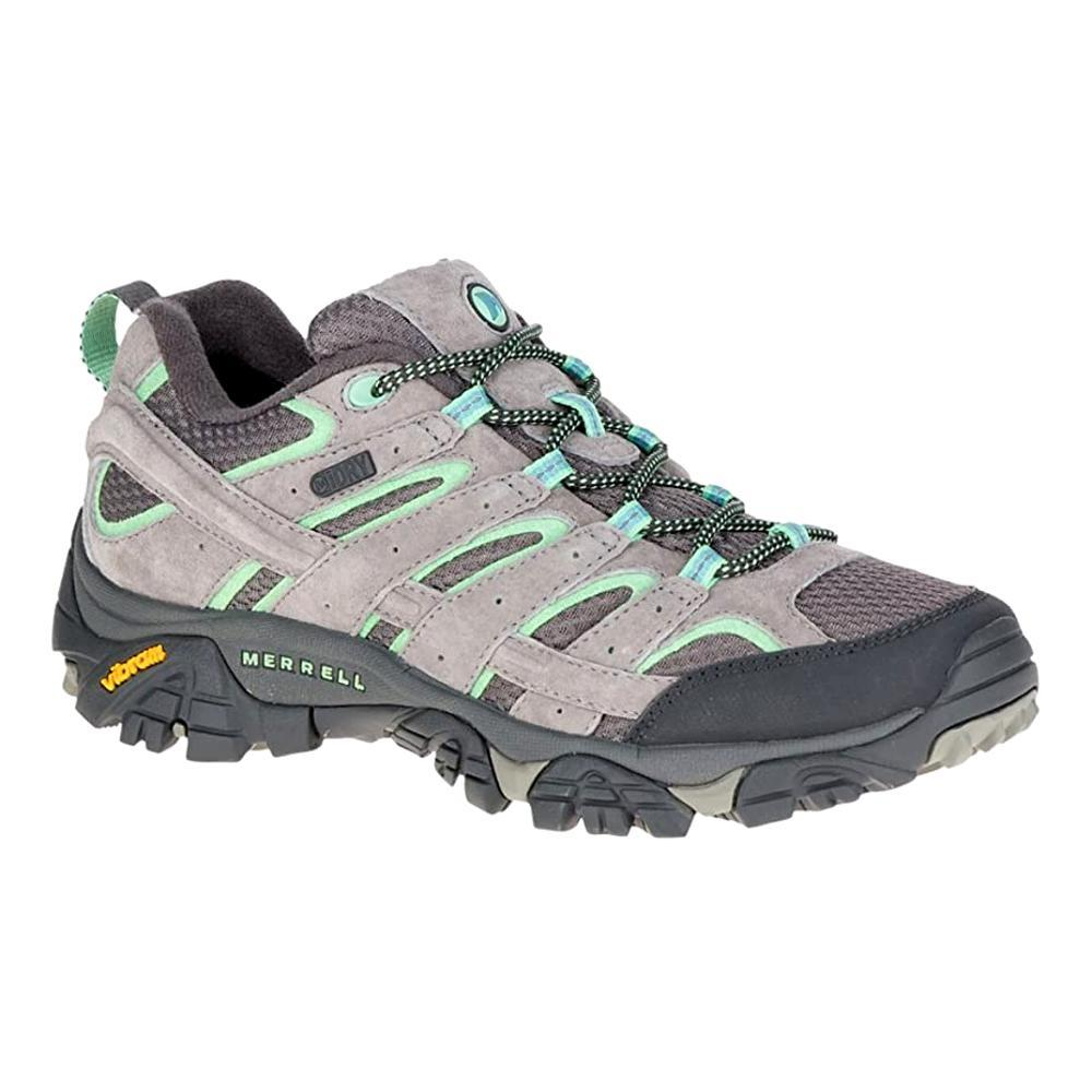 Merrell Women's Moab 2 Waterproof Hiking Shoes - Wide DRIZZLE