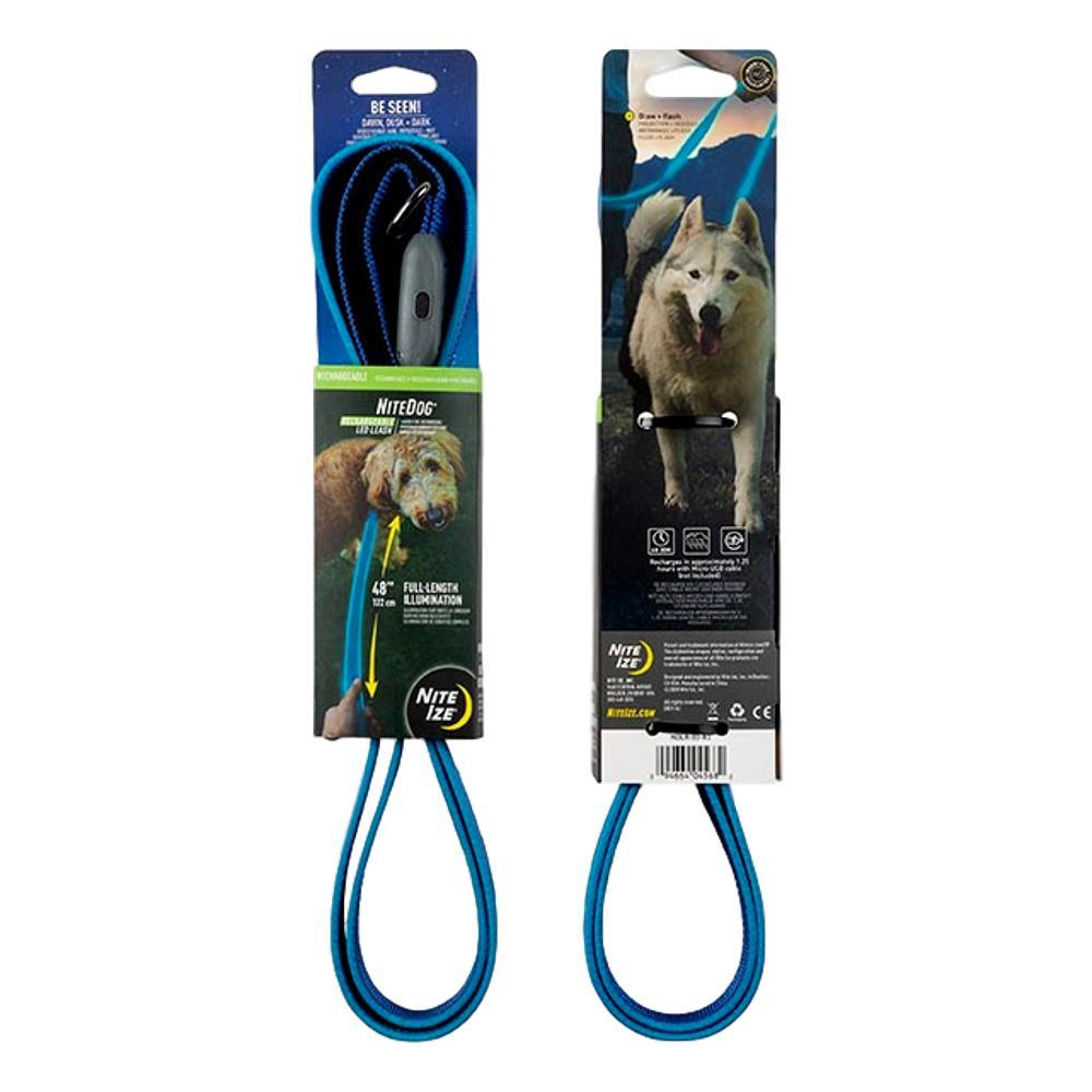 Nite Ize NiteDog Rechargeable LED Leash BLUE_LED