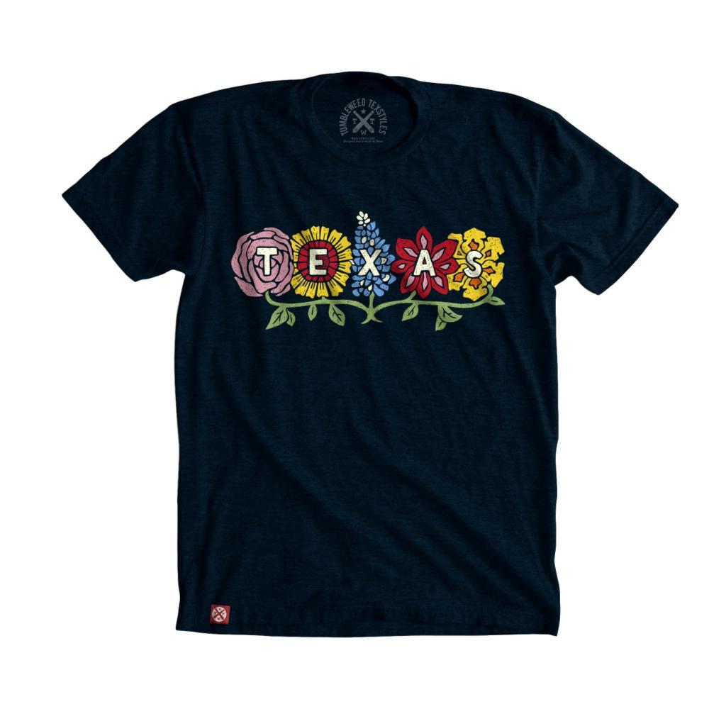 Tumbleweed Texstyles Women's Wildflower Texas T-Shirt NAVY
