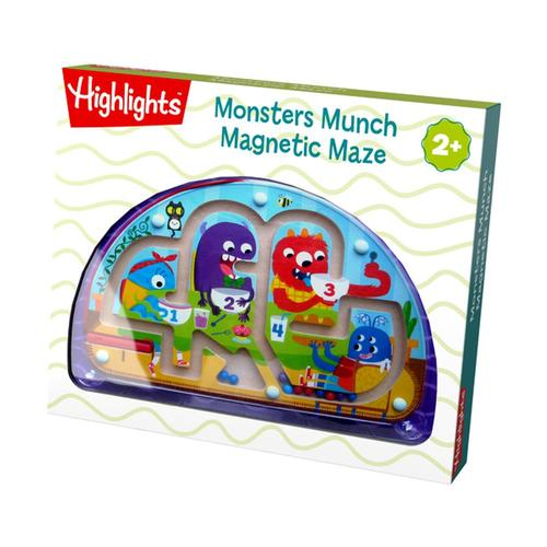 HABA Highlights Monsters Munch Magnetic Maze