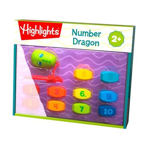 HABA Highlights Number Dragon