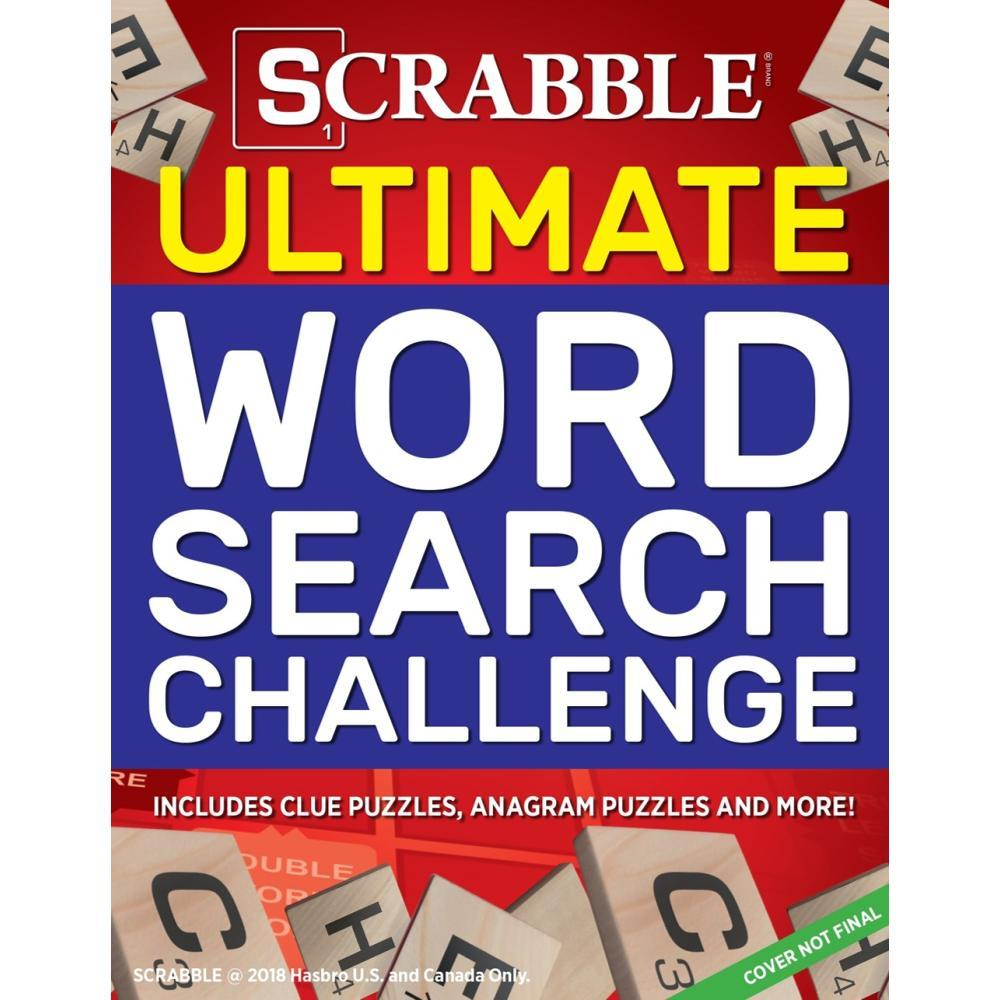 Scrabble Ultimate Word Search Challenge By Media Lab Books