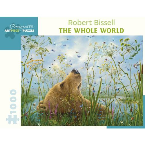 Pomegranate Robert Bissell: The Whole World 1000-Piece Jigsaw Puzzle