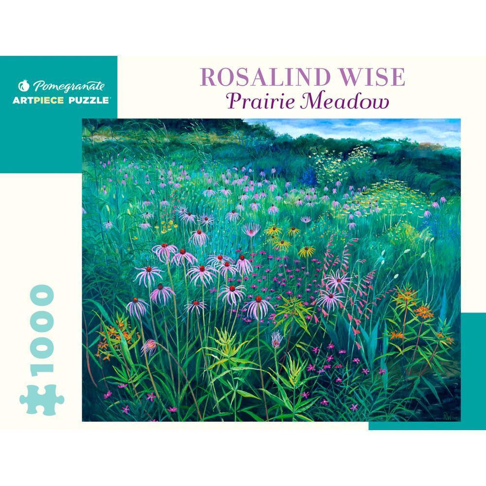Pomegranate Rosalind Wise : Prairie Meadow 1000- Piece Jigsaw Puzzle
