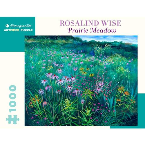 Pomegranate Rosalind Wise: Prairie Meadow 1000-Piece Jigsaw Puzzle