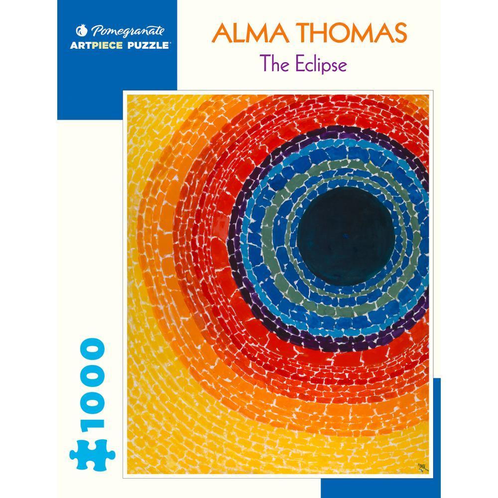 Pomegranate Alma Thomas : The Eclipse 1000- Piece Jigsaw Puzzle