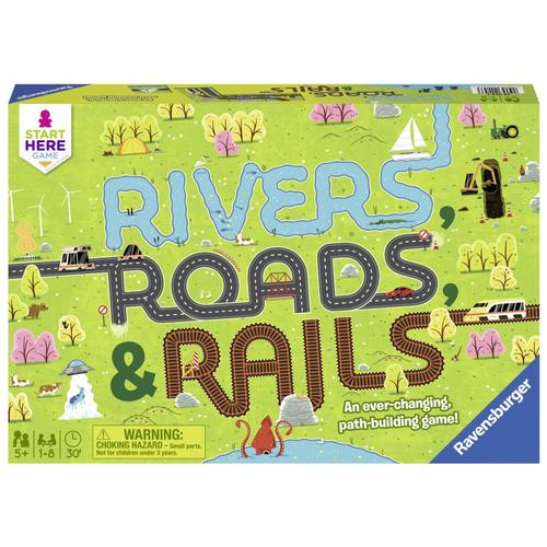 Ravensburger Rivers, Roads & Rails Game