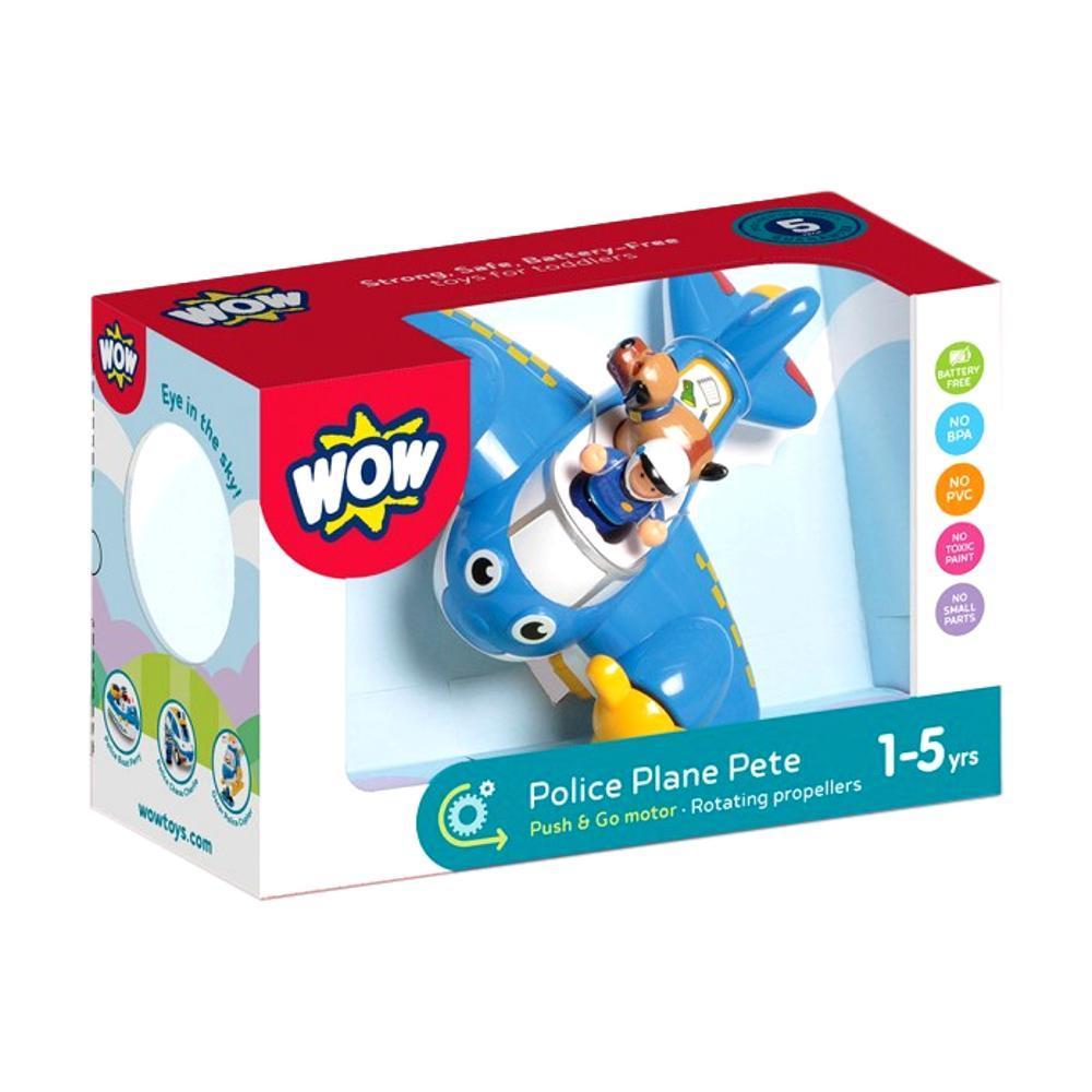 Wow Toys Police Plane Pete