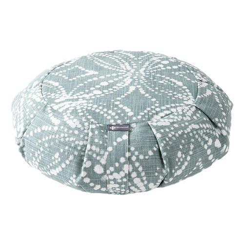 Halfmoon Round Meditation Cushion - Limited Edition Batik