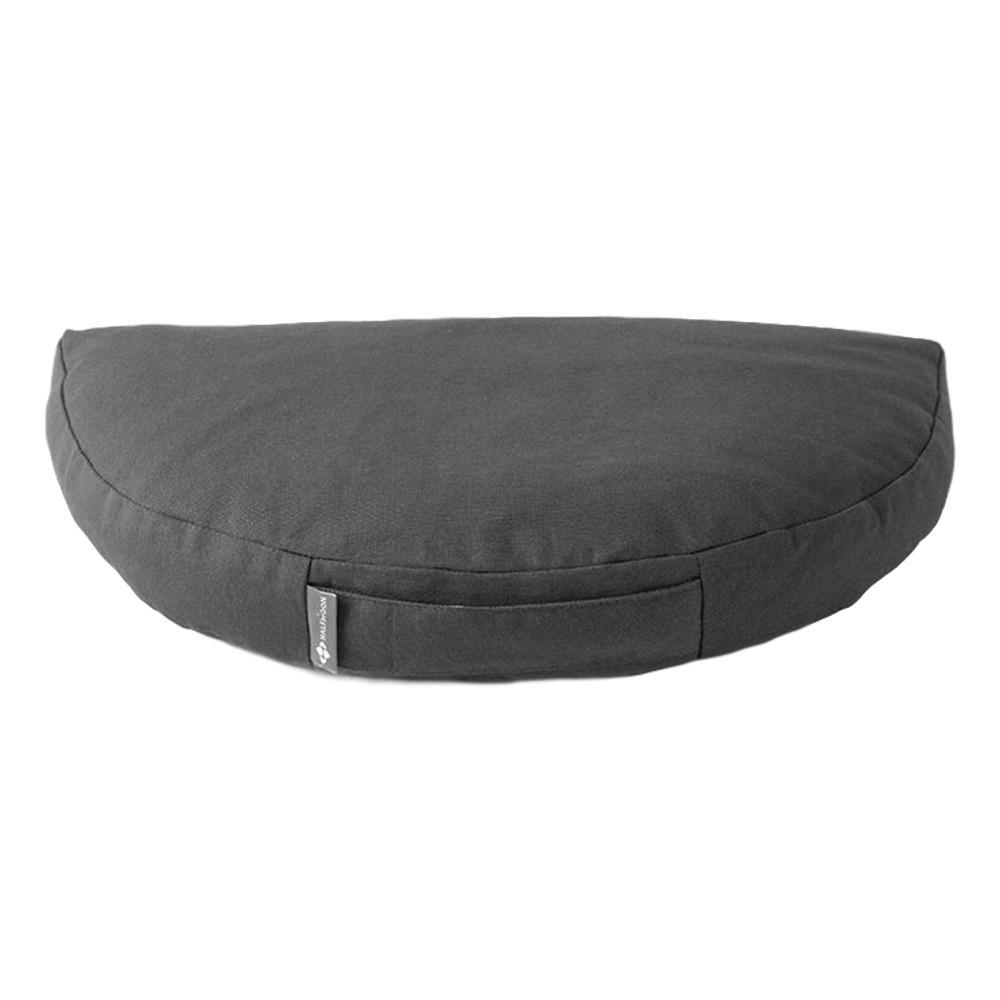 Halfmoon Om Meditation Cushion CHARCOAL
