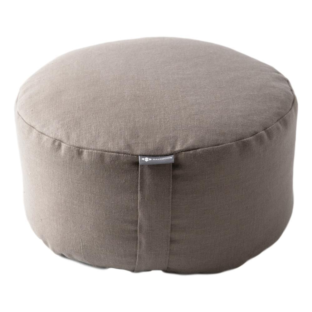 Halfmoon Mod Meditation Cushion - Limited Edition LT.MSHRM.LINEN