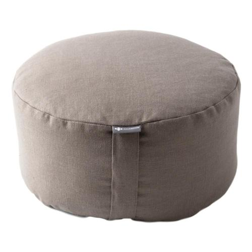 Halfmoon Mod Meditation Cushion - Limited Edition Lt.Mshrm.Linen