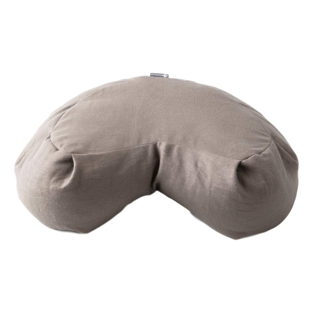 Halfmoon Meditation Cushion - Limited Edition LT.MSHRM.LINEN