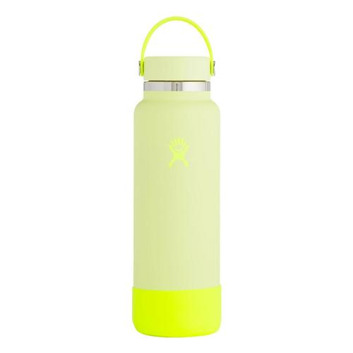 Hydro Flask Prism Pop Limited Edition 40z Wide Mouth - Flex Cap Neon_lemonade