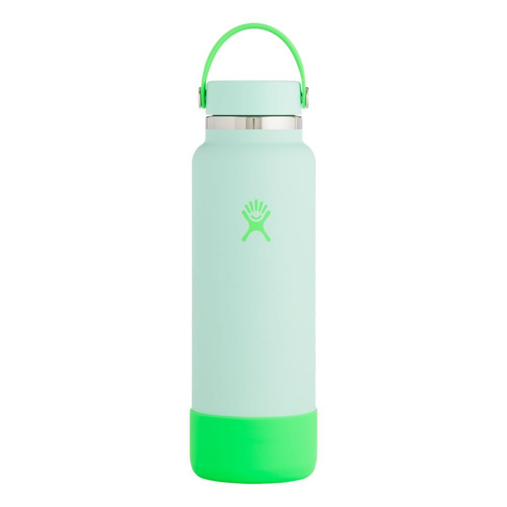Hydro Flask Prism Pop Limited Edition 40z Wide Mouth - Flex Cap NEON_SEAFOAM