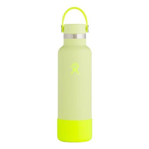 Hydro Flask Prism Pop Limited Edition 21oz Standard Mouth - Flex Cap Neon_lemonade