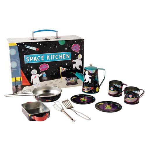 Floss & Rock Kitchen Space 7pc Tin Tea Set