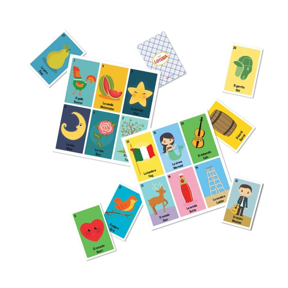 Lil ' Loteria Bilingual Bingo Game