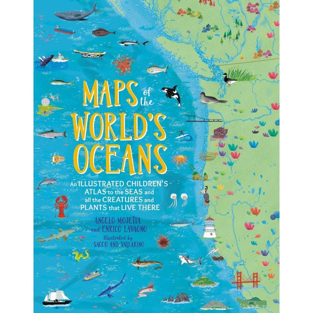 Maps Of The World's Oceans By Enrico Lavagno And Angelo Mojetta