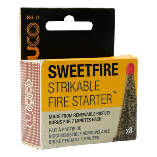 UCO Sweetfire Strikeable Fire Starter - 8 Pack .