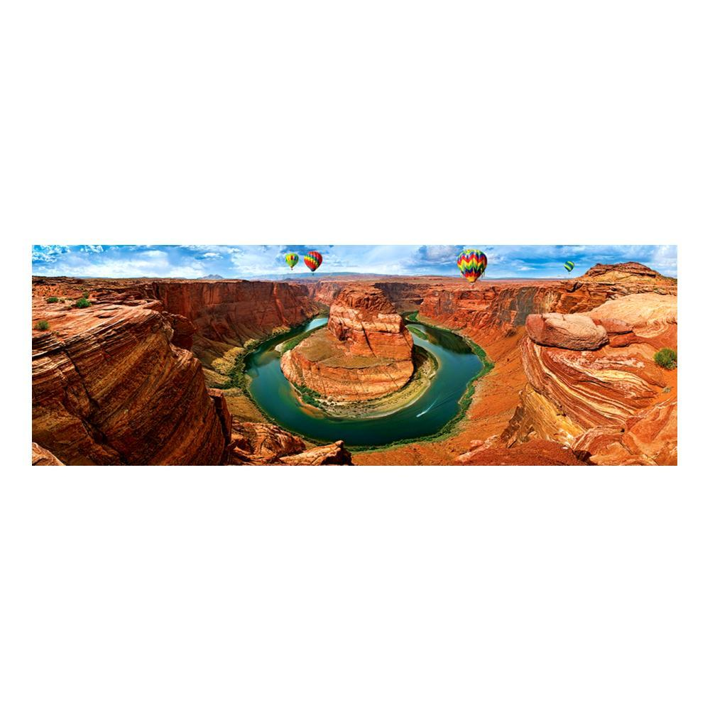 Eurographics Horseshoe Bend, Az Panoramic Jigsaw Puzzle