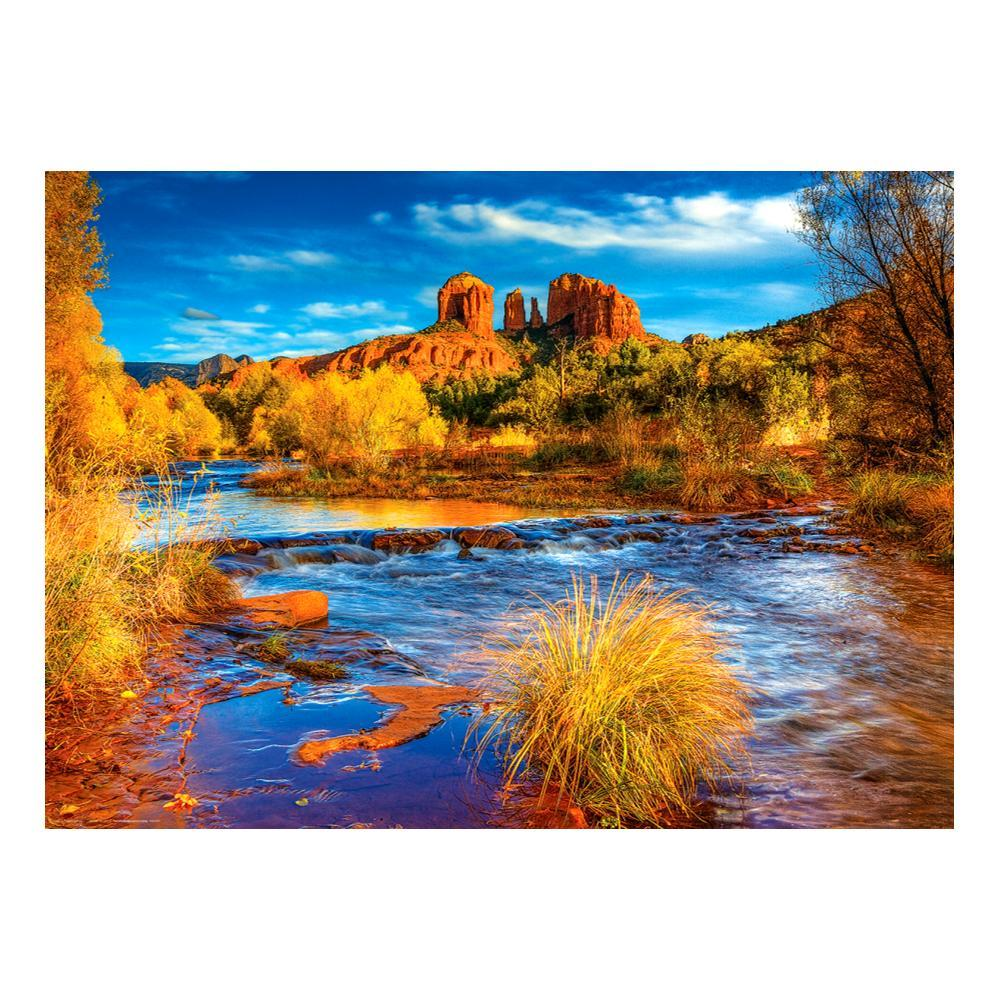 Eurographics Red Rock Crossing, Az Jigsaw Puzzle
