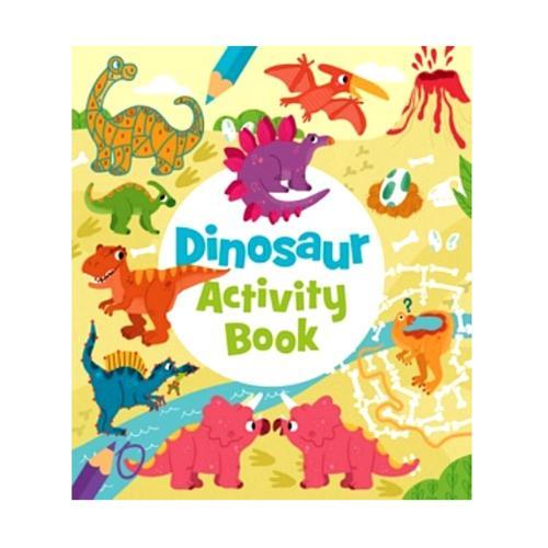 Baker & Taylor Dinosaur Activity Book .