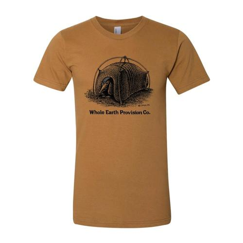 Whole Earth Unisex Armadillo T-Shirt Paleyellow