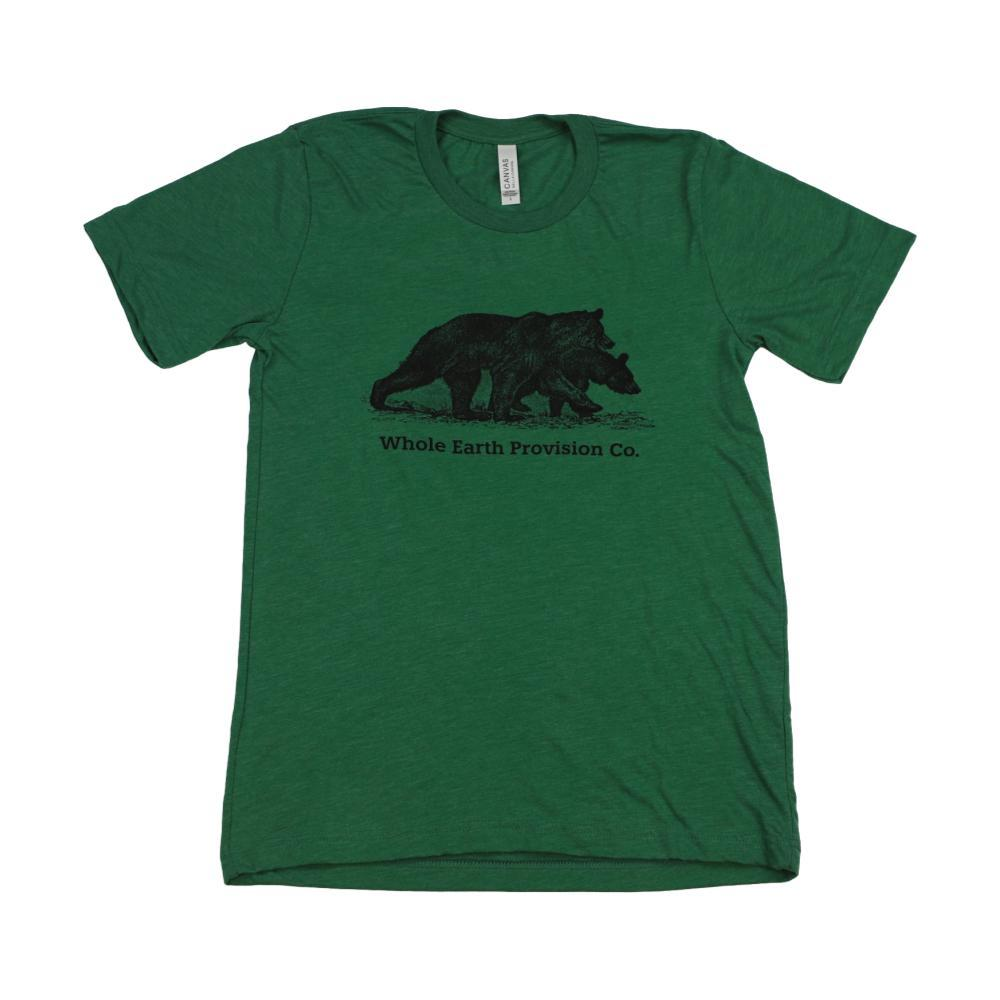 Whole Earth Unisex Bear T-Shirt G.GREENTRI
