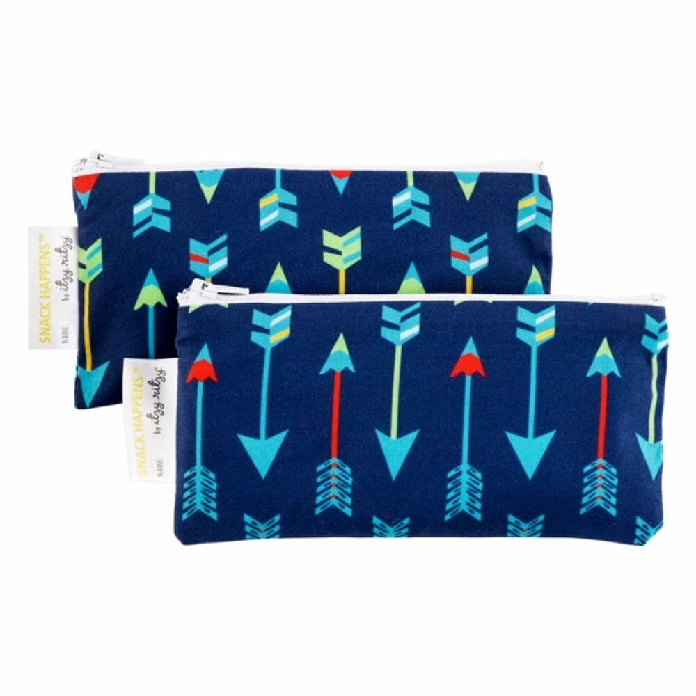 Itzy Ritzy Snack Happens Mini Reusable Snack and Everthing Bags BOLDARROW