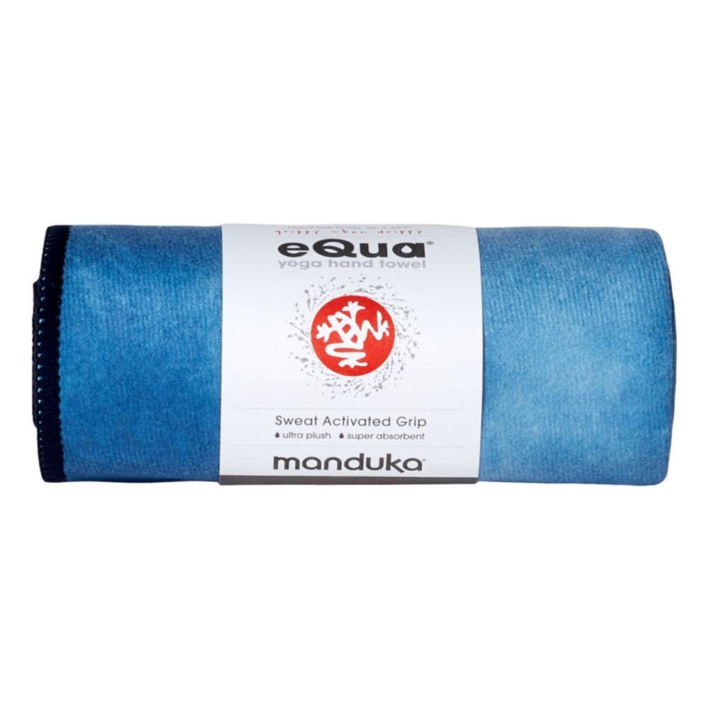 Manduka eQua Hand Yoga Towel TIE_DYE_BLUE