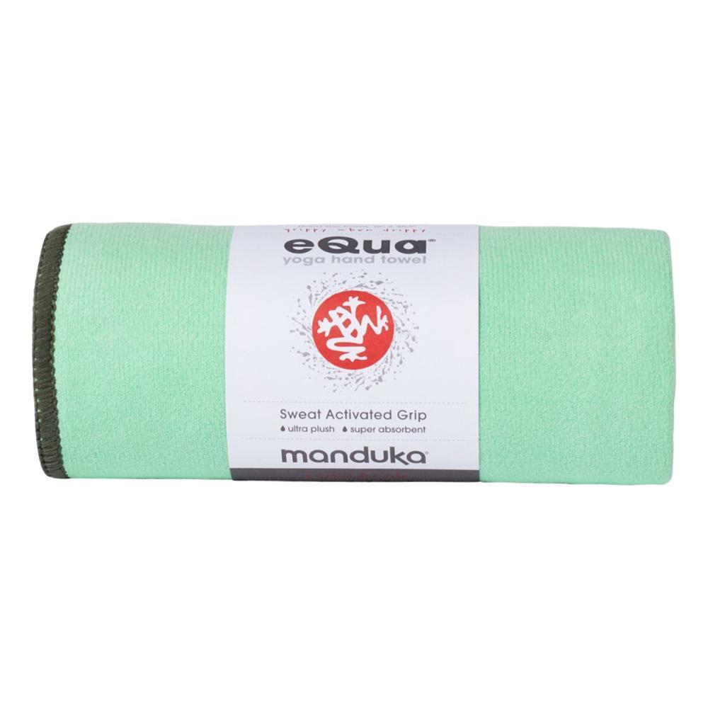 Manduka eQua Mat Towel GREEN_ASH