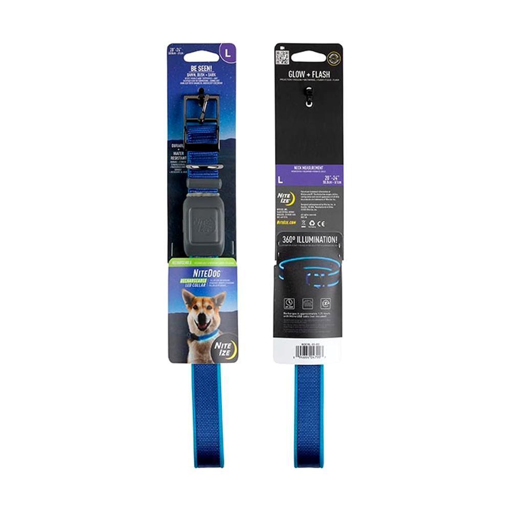 Nite Ize NiteDog Rechargeable LED Collar - Large BLUE_LED