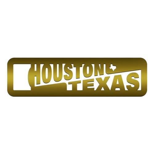 Zootility Houston Brass Bottle Opener