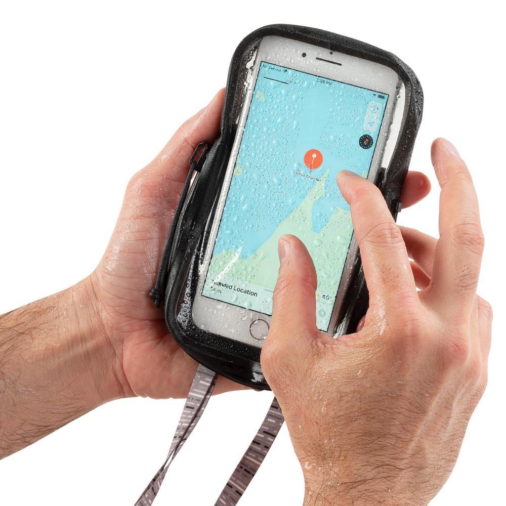 Nite Ize RunOff Waterproof Phone Pouch CHARCOAL