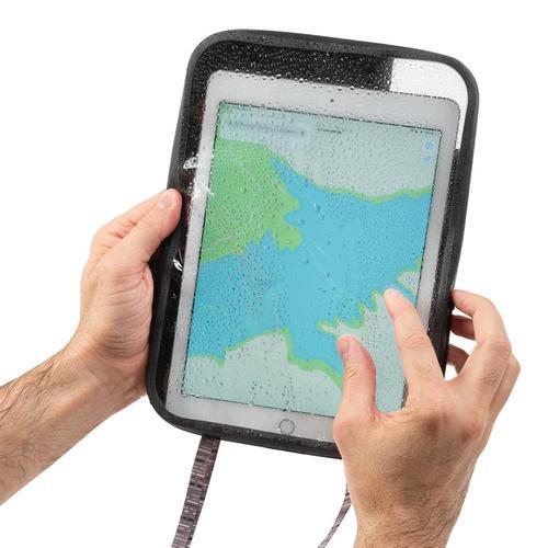 Nite Ize RunOff Waterproof Tablet Case Charcoal