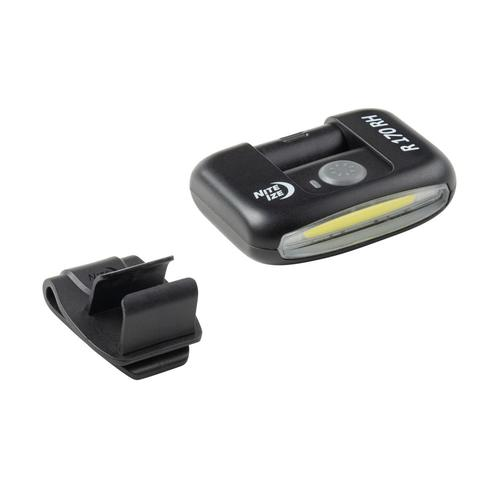 Nite Ize Radiant 170 Rechargeable Clip Light Black