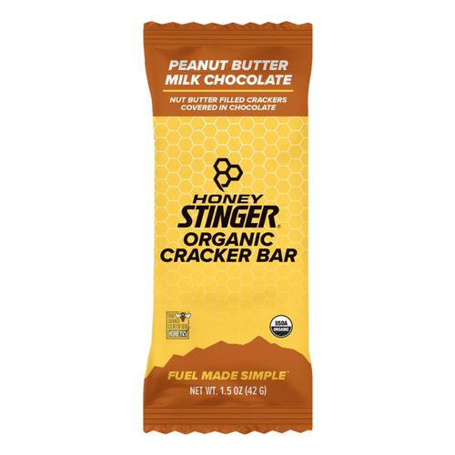Honey Stinger Organic Cracker Bar - Peanut Butter Milk Chocolate Peanut_btr_milk_choc