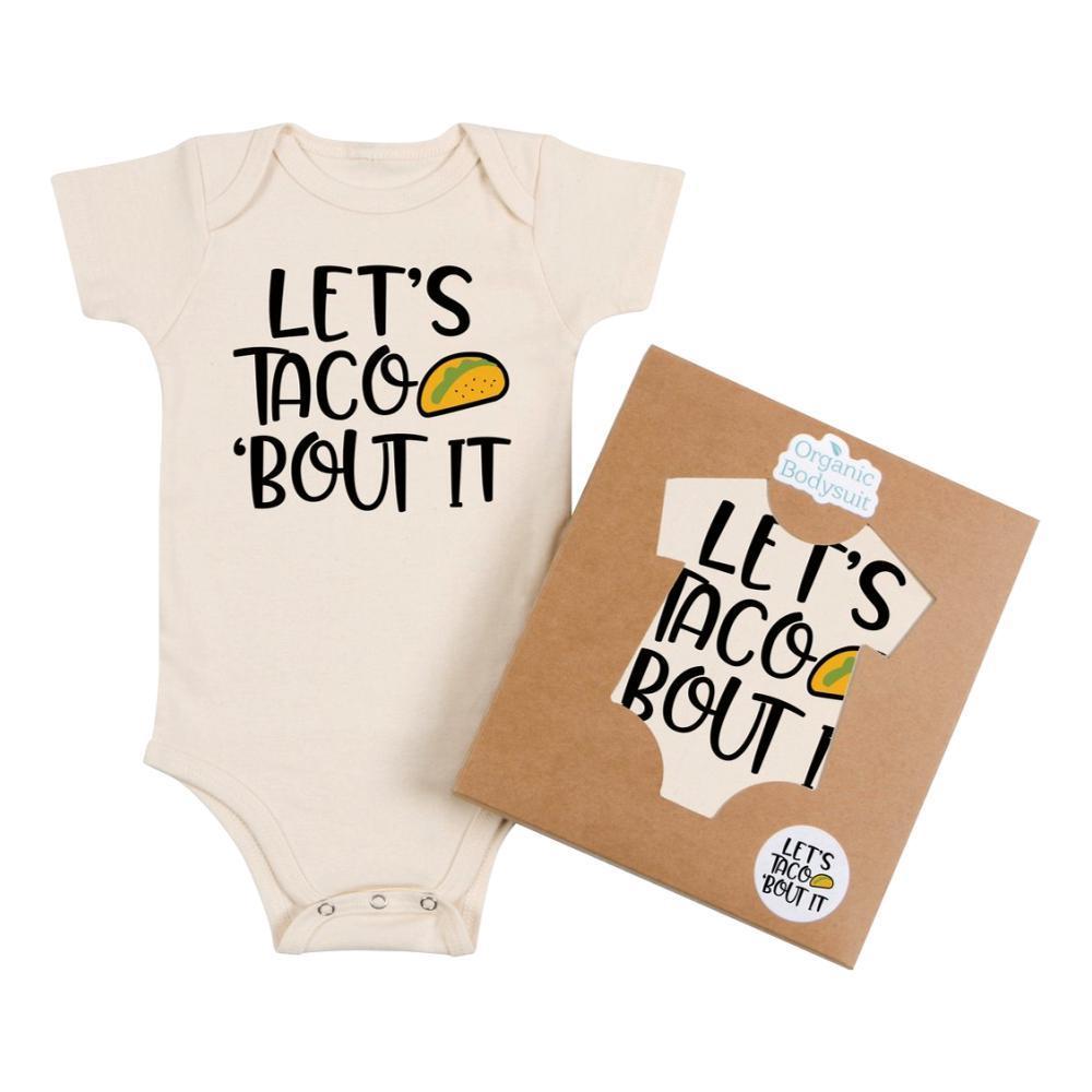 Morado Designs Infant Taco About It Bodysuit NATURAL