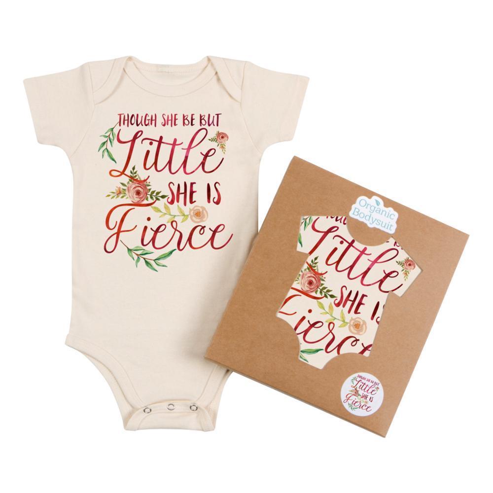 Morado Designs Infant She is Fierce Bodysuit NATURAL