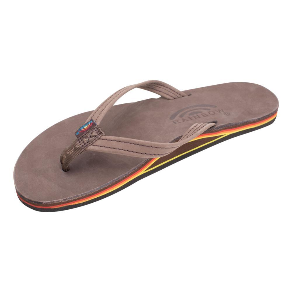 Rainbow Women's Single Layer Premier Leather with Arch Support and Narrow Strap Sandals EROY