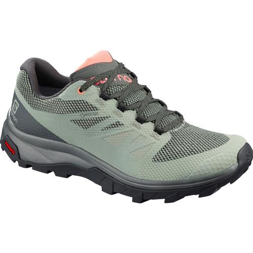 Salomon Women's OUTline GTX Hiking Shoes Shd.Urbc.Corl