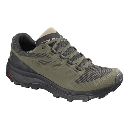 Salomon Men's OUTline GTX Hiking Shoes Bolv.Blk.Safr
