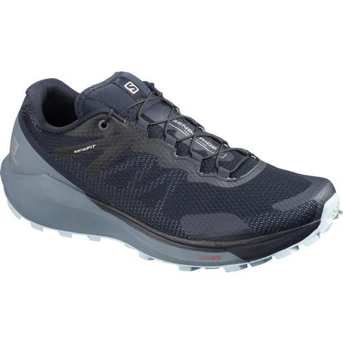 Salomon Women's Sense Ride 3 Trail Running Shoes Navy.Flnt