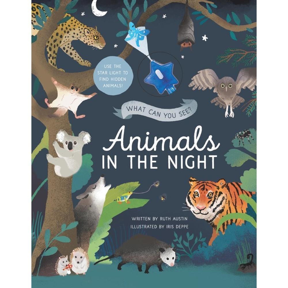 What Can You See ? Animals In The Night By Ruth Austin