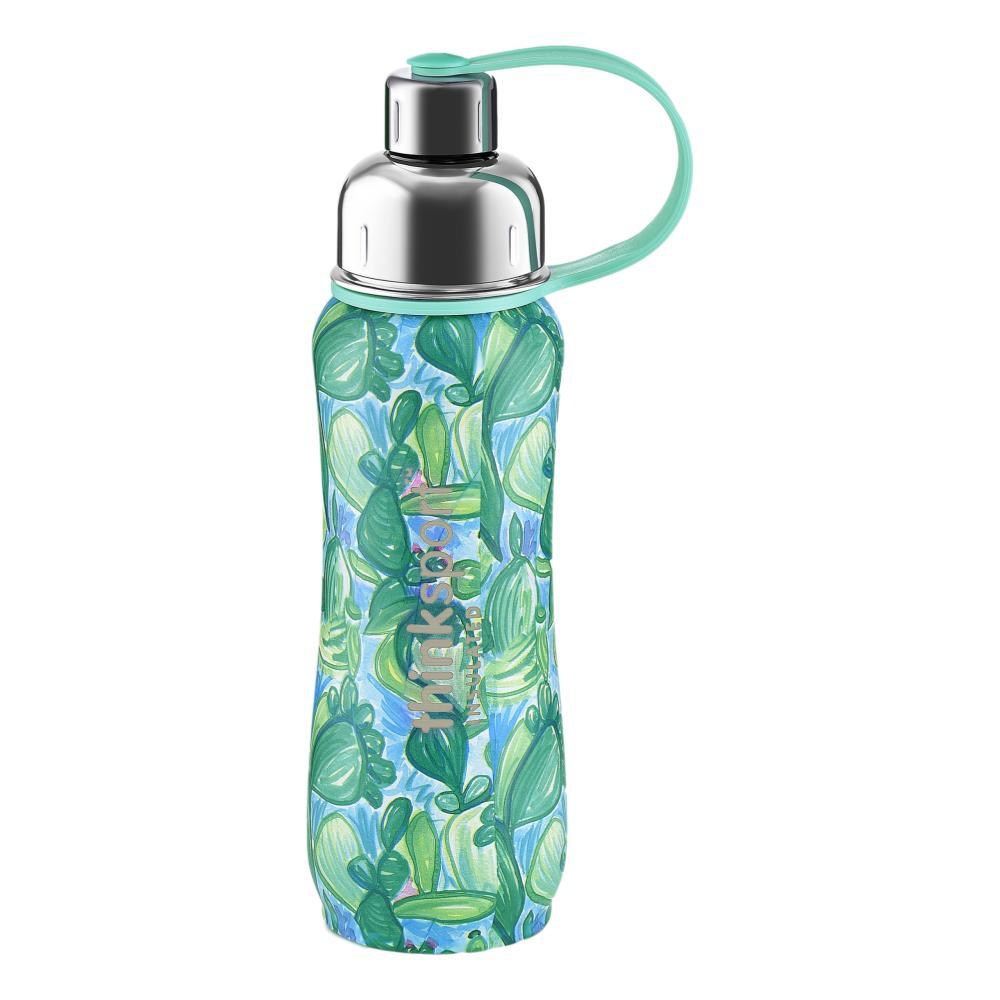 Thinksport Artist Series Insulated Sports Bottle 17oz - Cactus CACTUS