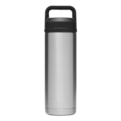 YETI Rambler 18oz Bottle with Chug Cap Stnlss