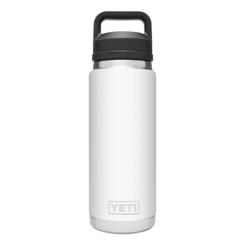 YETI Rambler 26oz Bottle with Chug Cap WHITE