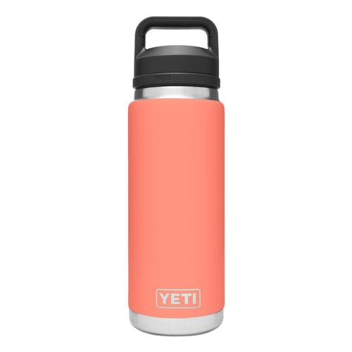 YETI Rambler 26oz Bottle with Chug Cap Coral